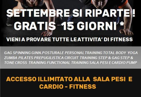 Promozione Fitness